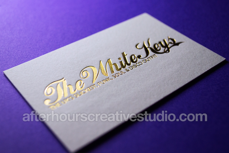 Foil Embossed Business Cards - Luxury Business Cards