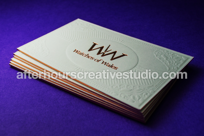 Foil embossed business cards luxury business cards picture colourmoves